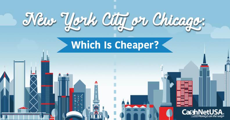 Comparing Big City Living – NY vs. Chicago
