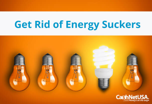 Scrap the Energy Suckers and Save