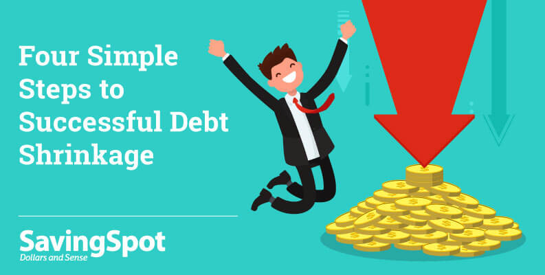 Four Simple Steps to Successful Debt Shrinkage