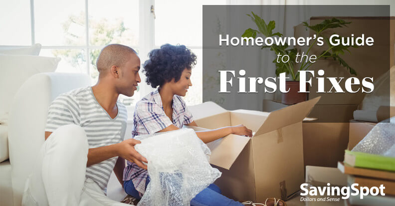 6 Easy Projects for the First 6 Months in Your New Home