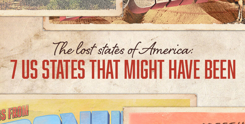 Lost States of America: 7 States That Might Have Been