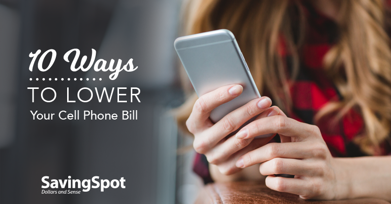 How to Save More on Your Cell Phone Bill