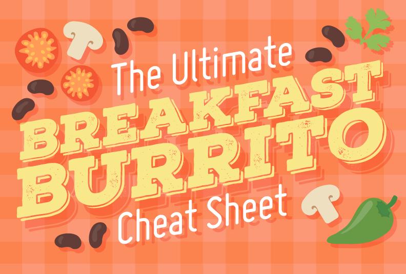 The Ultimate Breakfast Burrito Cheat Sheet