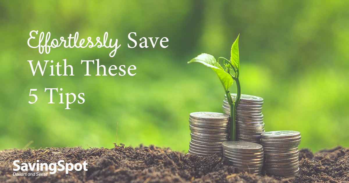 5 Ways to Trick Yourself Into Saving More