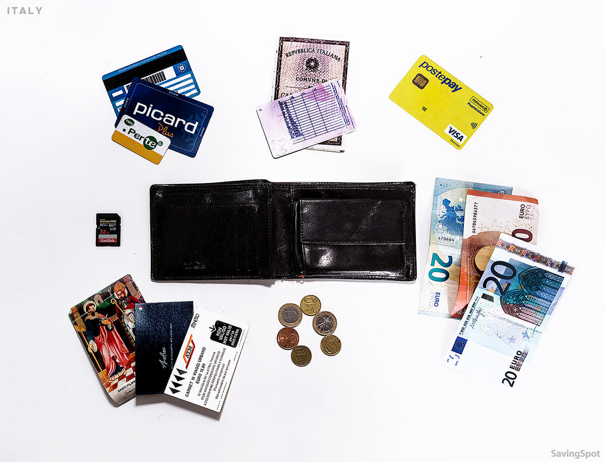 Whats In Your Wallet CONTENTS Andrea