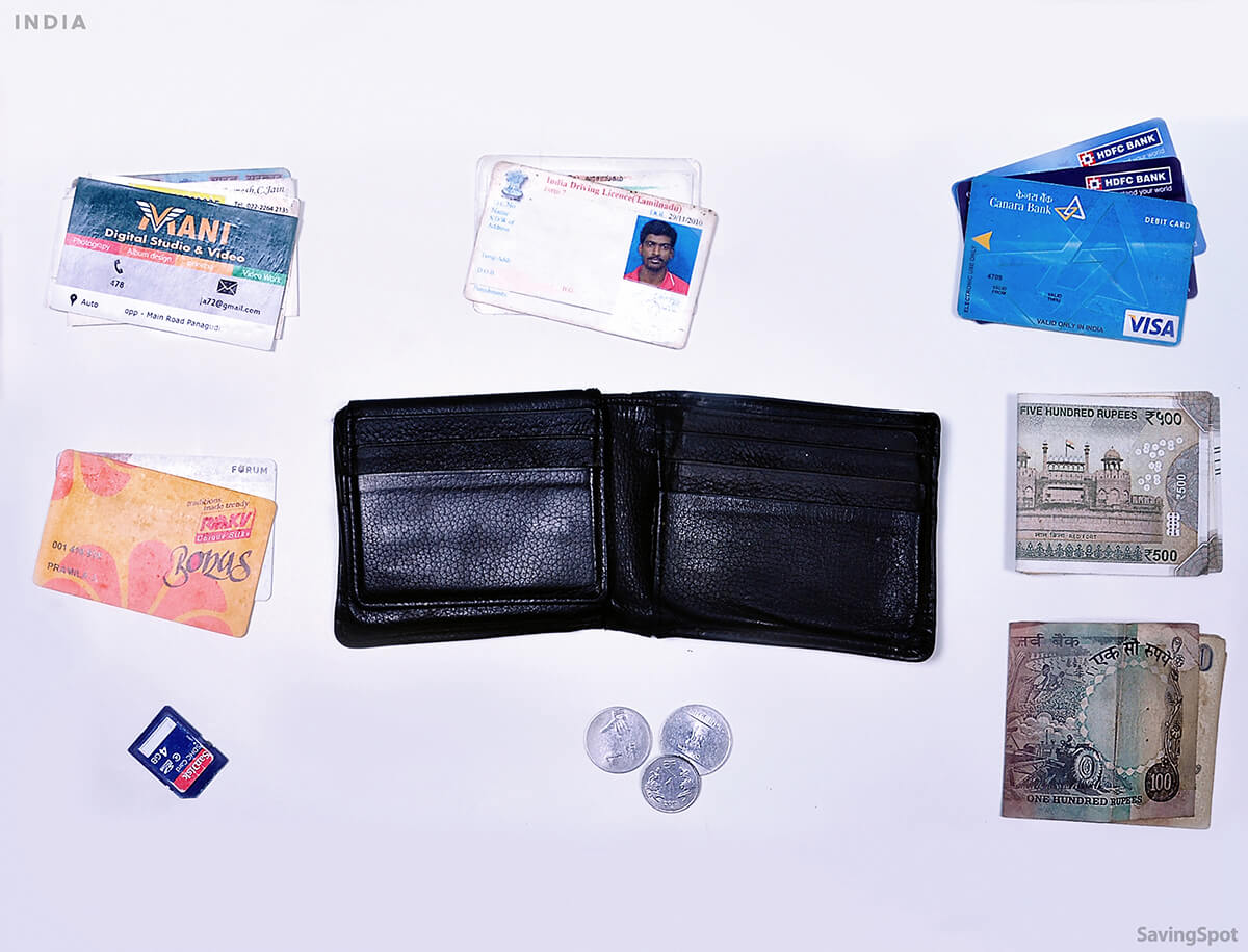 What's In Your Wallet Indian Participant Contents