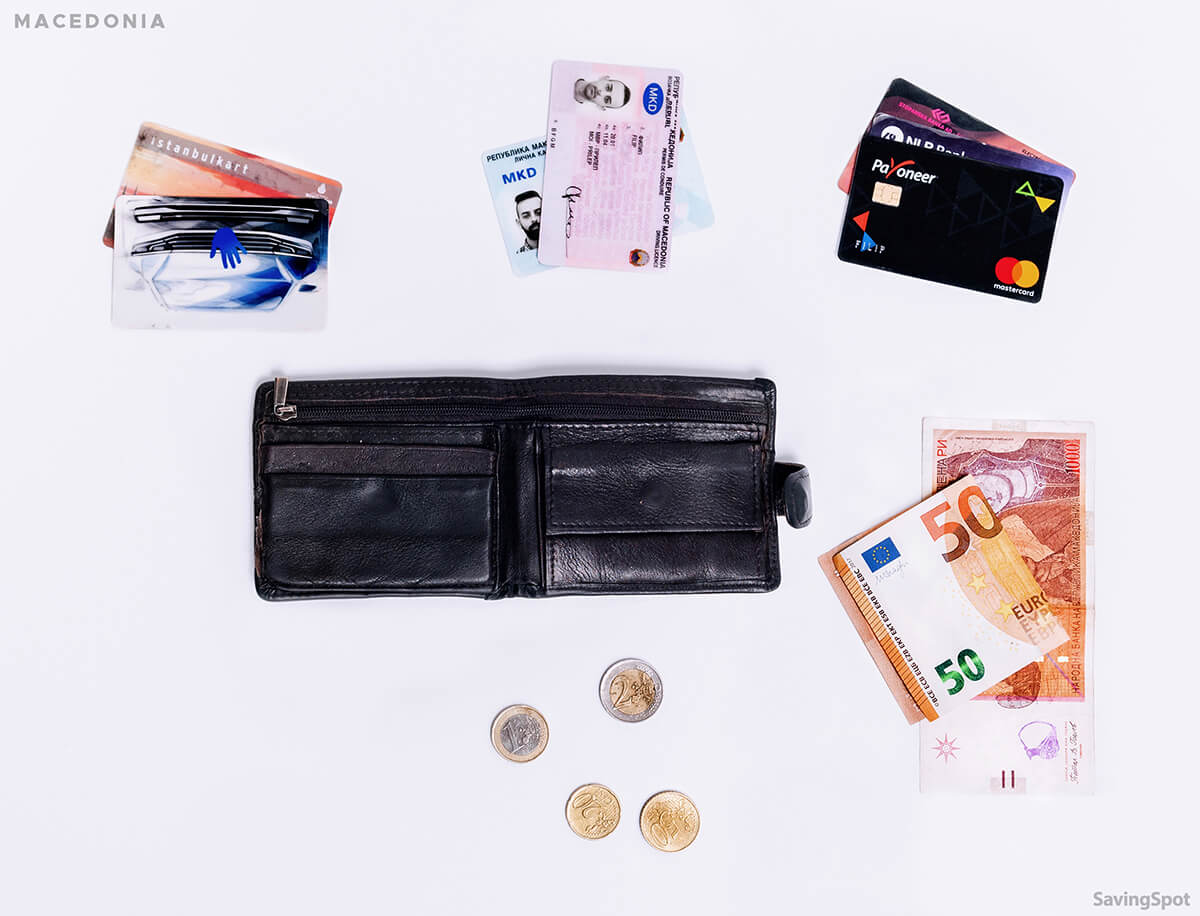 What's In Your Wallet Macedonian Contents