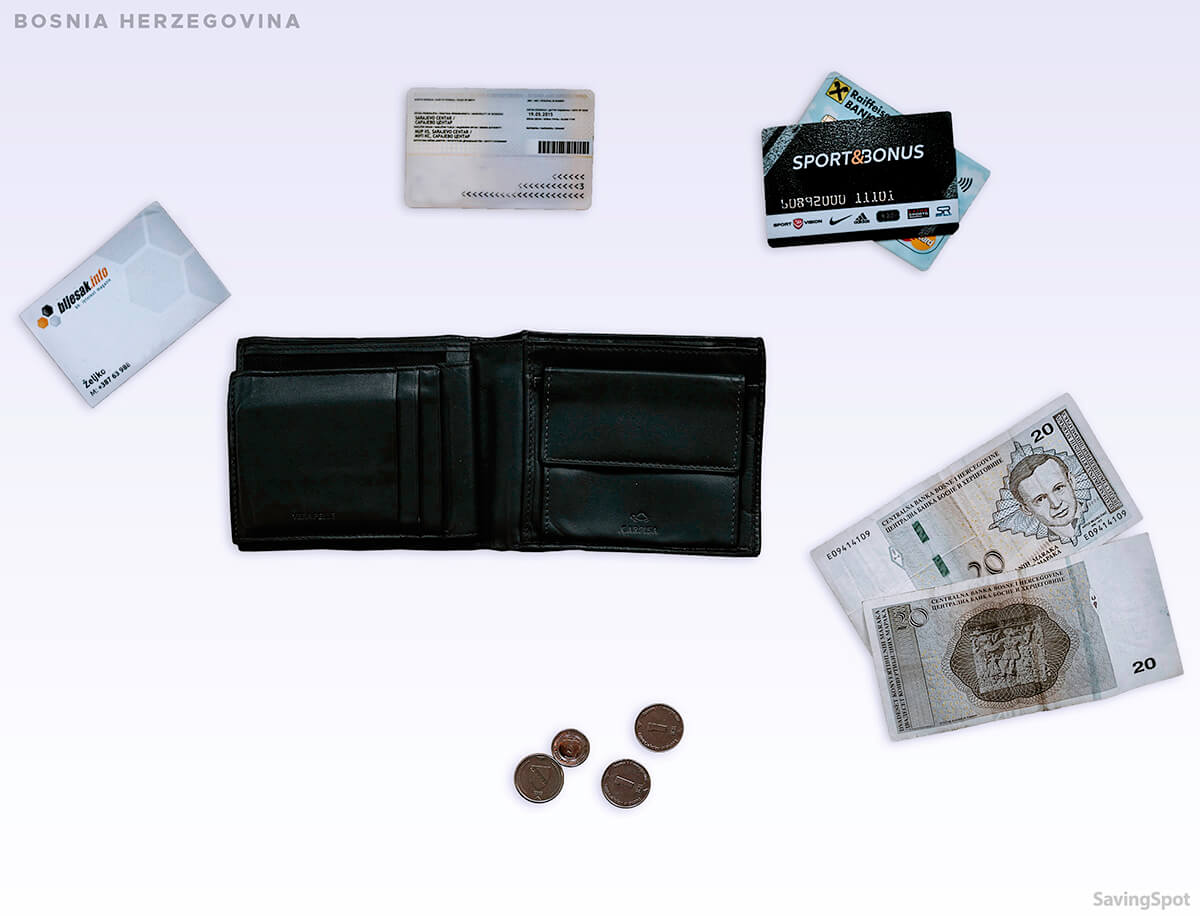 What's In Your Wallet Bosnia and Herzegovina Contents