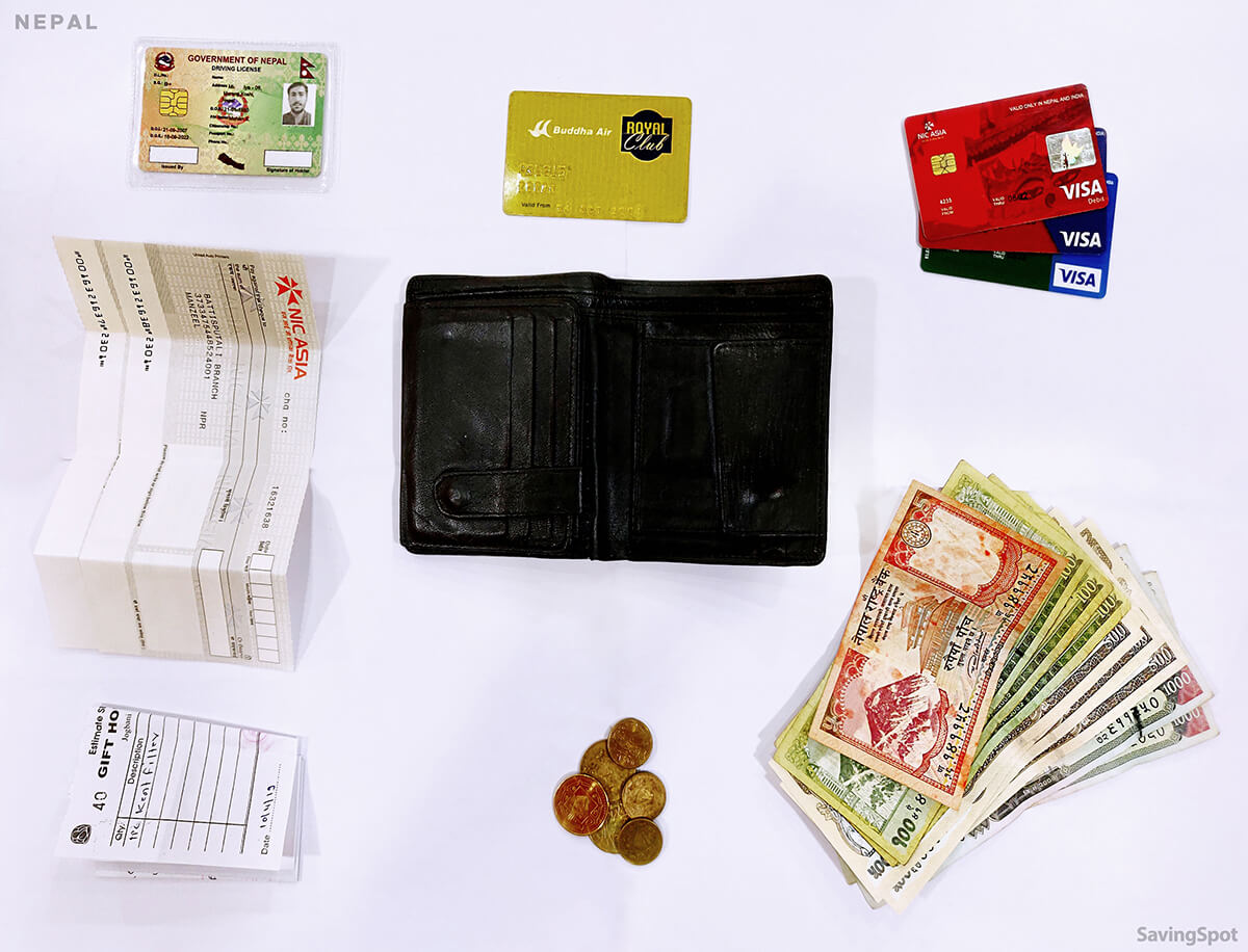 What's In Your Wallet Nepal Contents