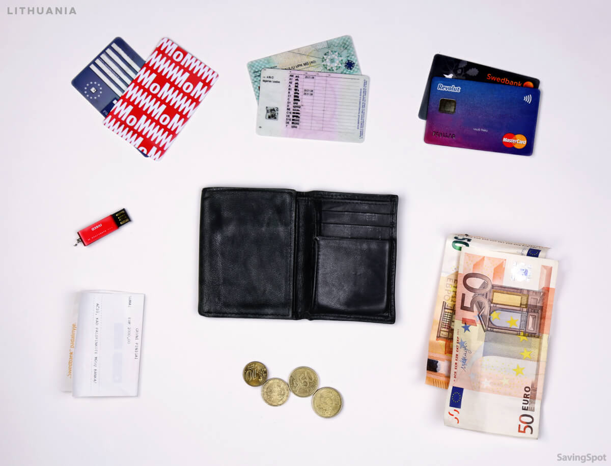 What's In Your Wallet Lithuania Contents