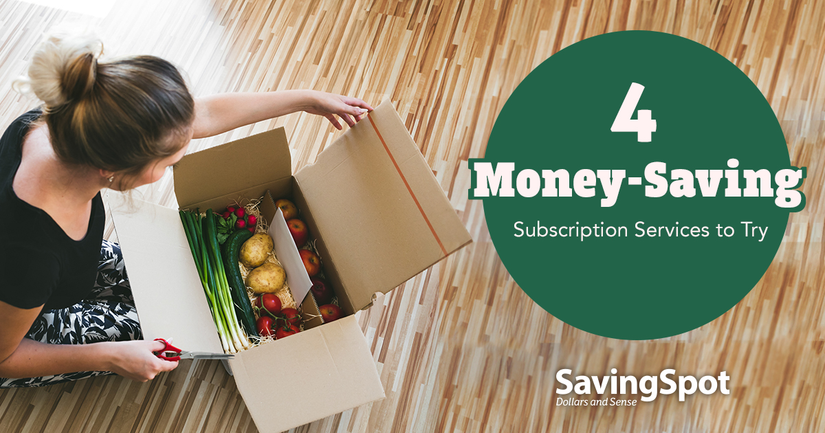 Subscription Services That Save You Money