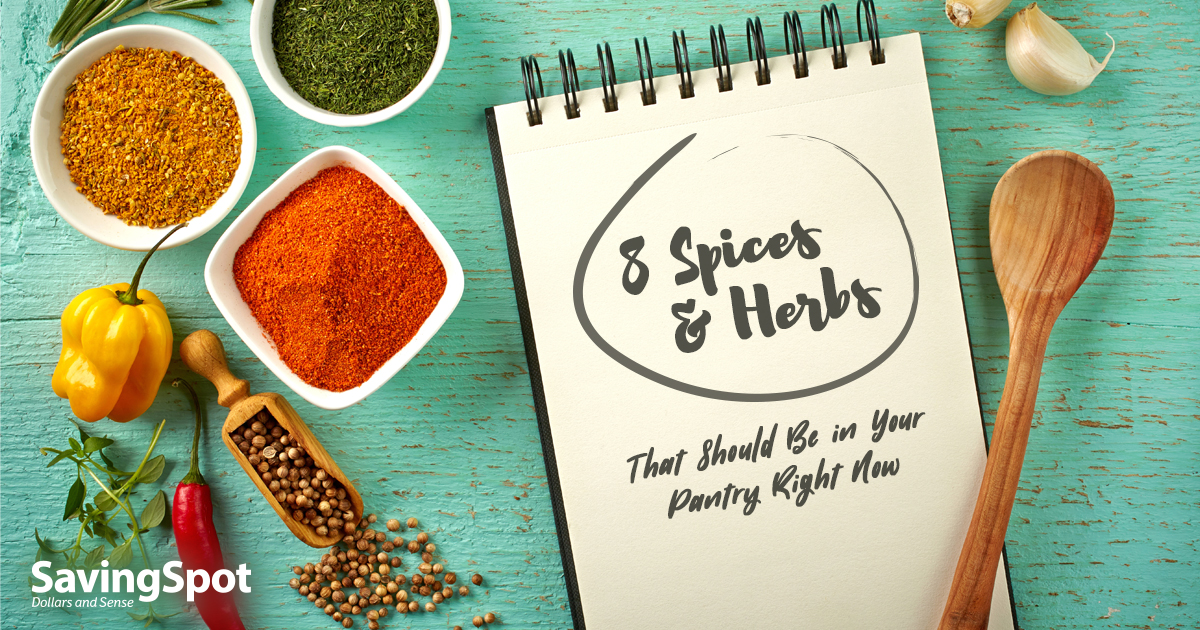 Essential Spices and Herbs for the Budget Home Chef