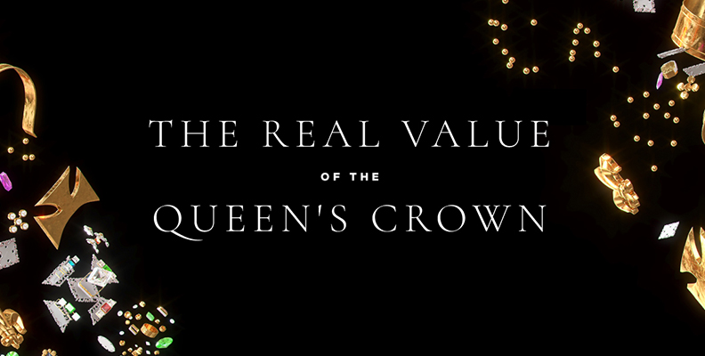 The Real Value of the Queen's Crown