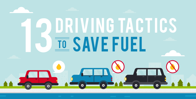 13 Driving Tactics to Save Fuel