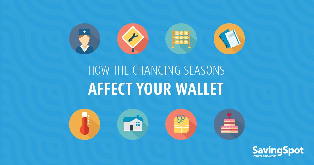 Seasonal Expenses to Expect Around the Year