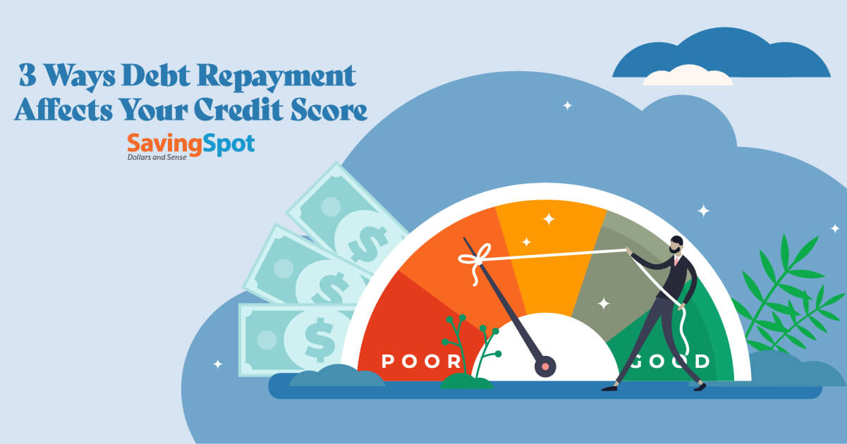 What Happens to Your Credit When You Repay Debt?