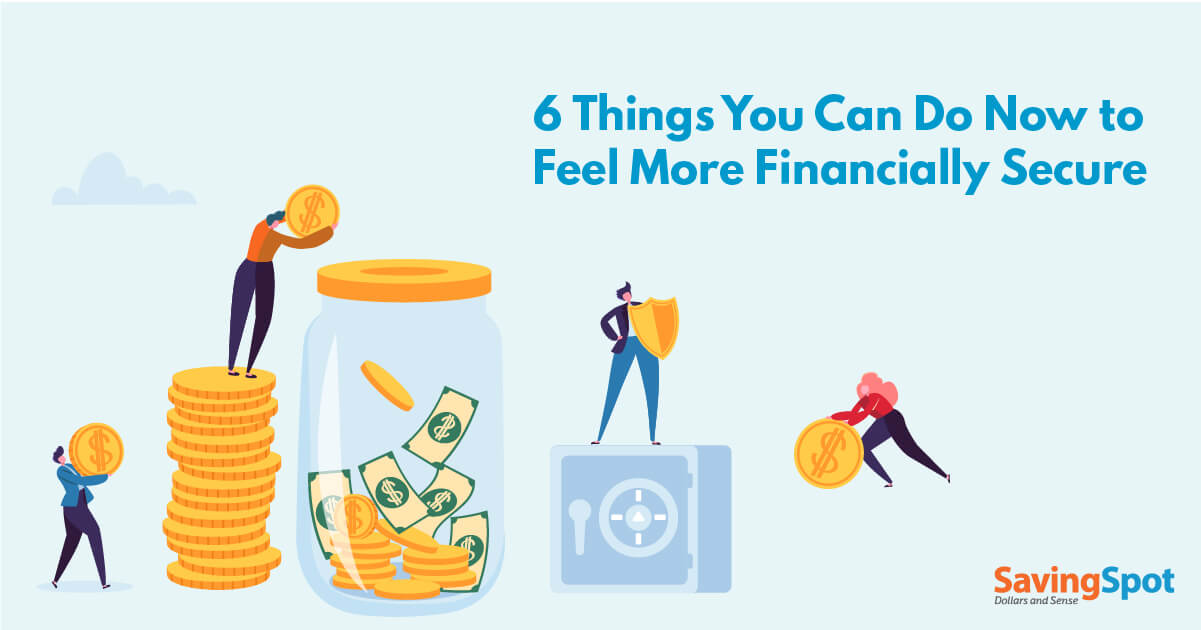 How to Feel More Financially Secure Today