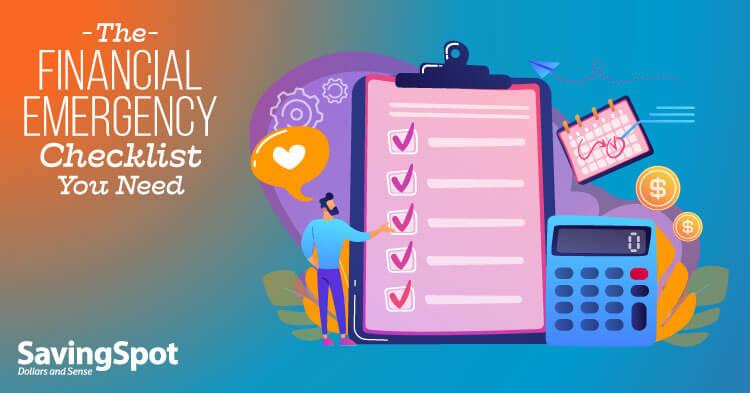 Your Financial Emergency Plan Checklist