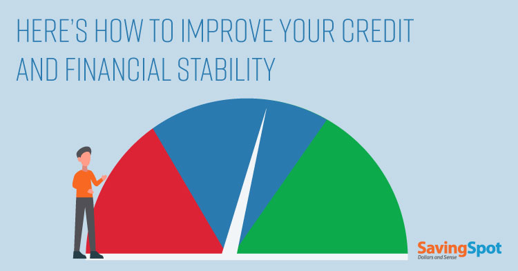 How to Bounce Back from Bad Credit and Feel Financially Stable