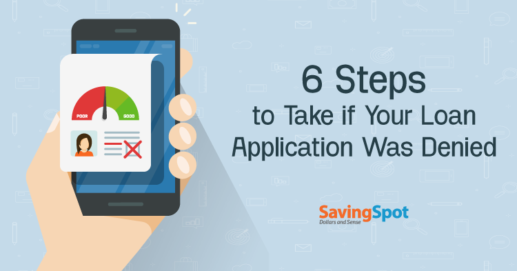 What to Do if Your Loan Application Is Declined